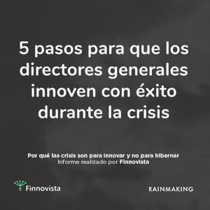 5 pasos para la innovación