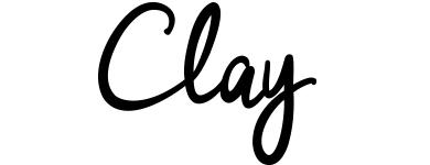 clay logpo